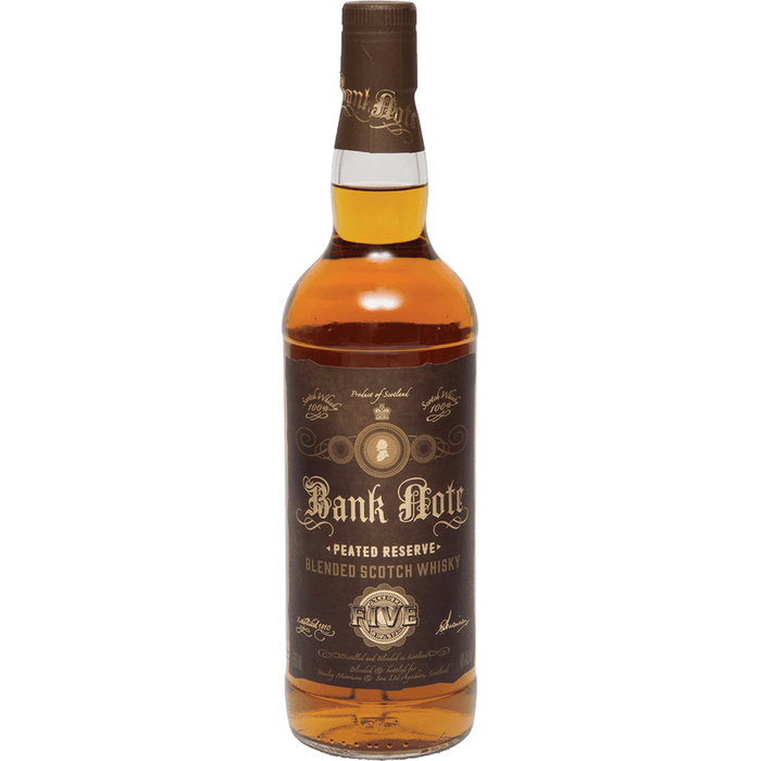Bank Note Peated Reserve 5 Year Old Blended Scotch Whisky