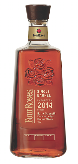 Four Roses Single Barrel Limited Edition 2014 Release Barrel Strength Kentucky Straight Bourbon Whiskey at CaskCartel.com