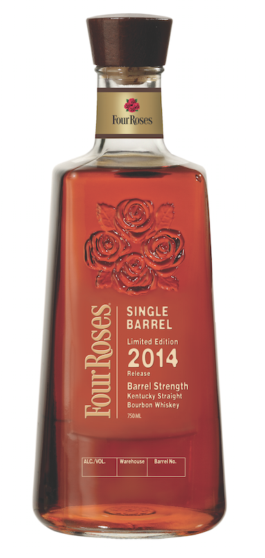 Four Roses Single Barrel Limited Edition 2014 Release Barrel Strength Kentucky Straight Bourbon Whiskey