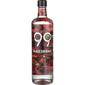 99 Black Cherries Schnapps 99 Proof Liqueur at CaskCartel.com