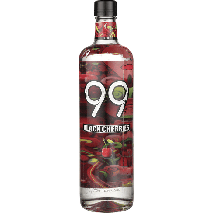 99 Black Cherries Schnapps 99 Proof Liqueur