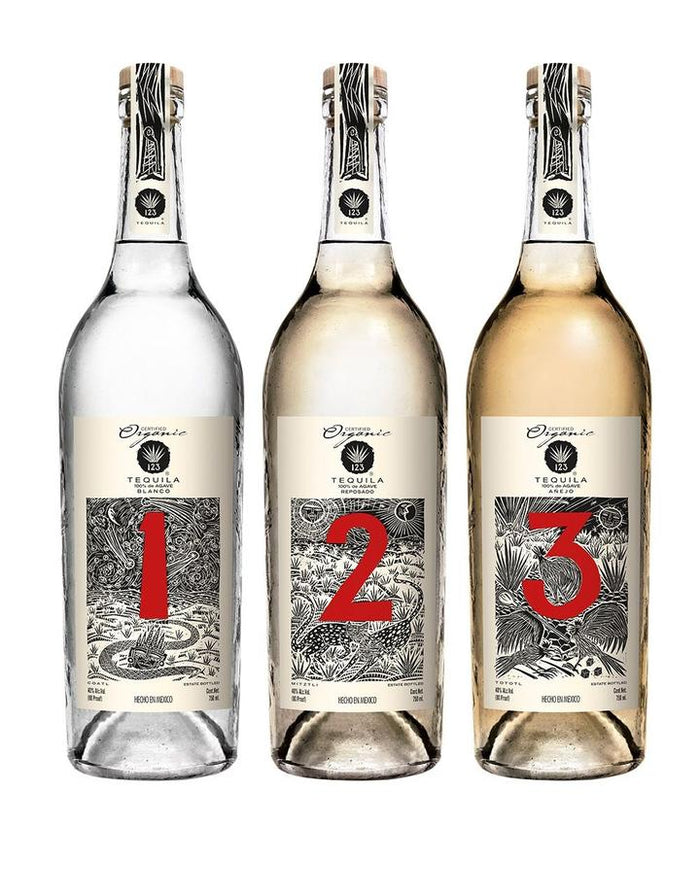 123 Organic Collection Tequila