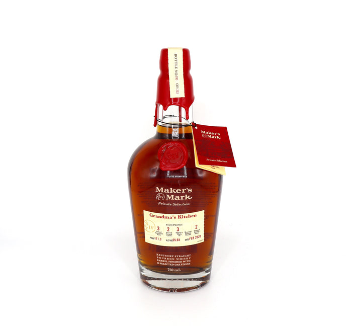 Maker's Mark Private Selection Grandma's Kitchen Kentucky Straight Bourbon Whisky