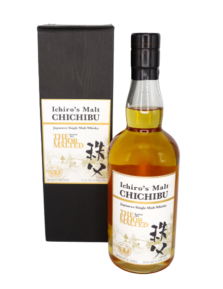 Ichiro's Malt Chichibu The Floor Malted in Presentation Box 2015 Whiskey