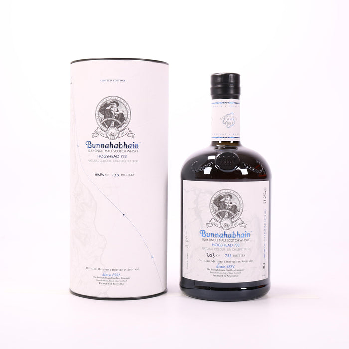 Bunnahabhain Hogshead 733 Single Malt Scotch Whisky