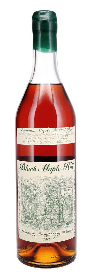 Black Maple Hill 18 Year Cask R77 Single Barrel Kentucky Straight Rye Whiskey