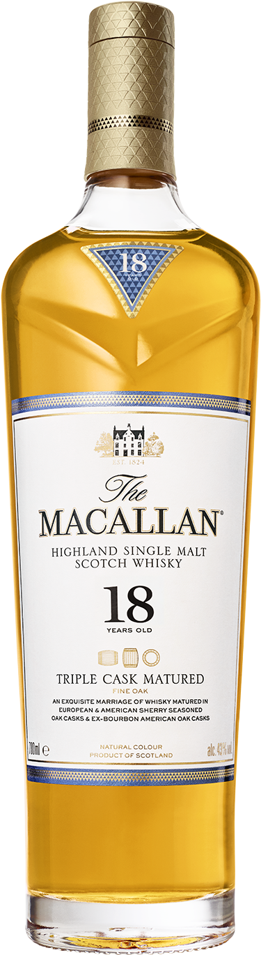 The Macallan 18 Years Old Triple Cask Single Malt Whisky