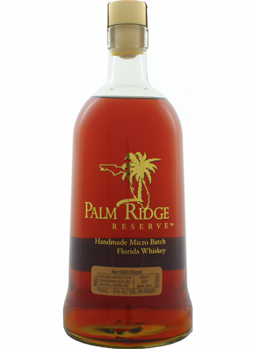 Palm Ridge Florida Rye Whiskey