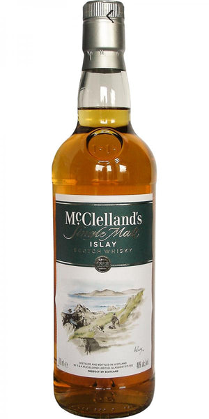 McClelland's Islay Single Malt Scotch Whisky - CaskCartel.com
