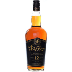 WL Weller 12 Year Old Kentucky Straight Wheated Bourbon Whiskey 1L at CaskCartel.com