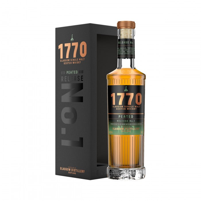 1770 Peated Release No.1 Single Malt Scotch Whisky