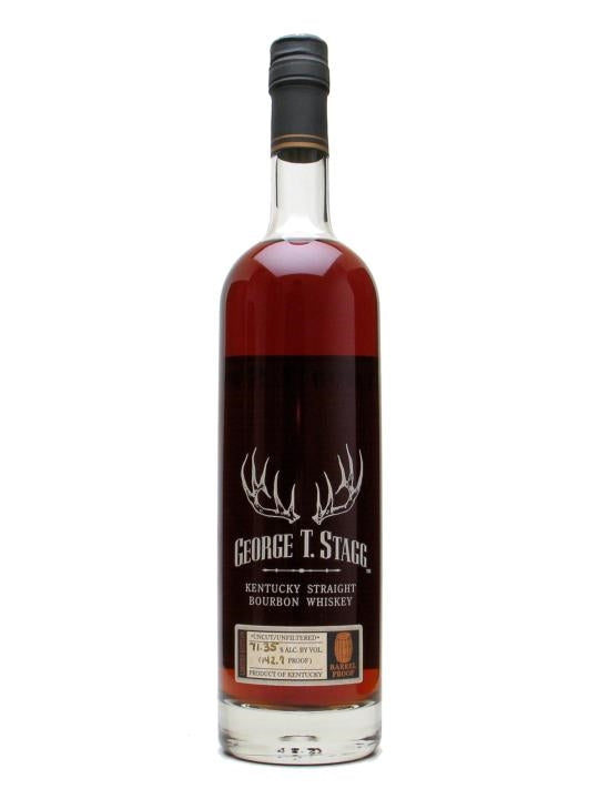 George T Stagg Limited Edition Barrel Proof 142.7 proof 2003 Release Kentucky Straight Bourbon Whiskey