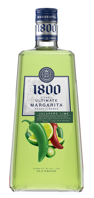 1800 The Ultimate Margarita Jalapeno Lime Liqueur - CaskCartel.com