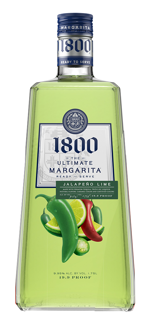 1800 The Ultimate Margarita Jalapeno Lime Liqueur