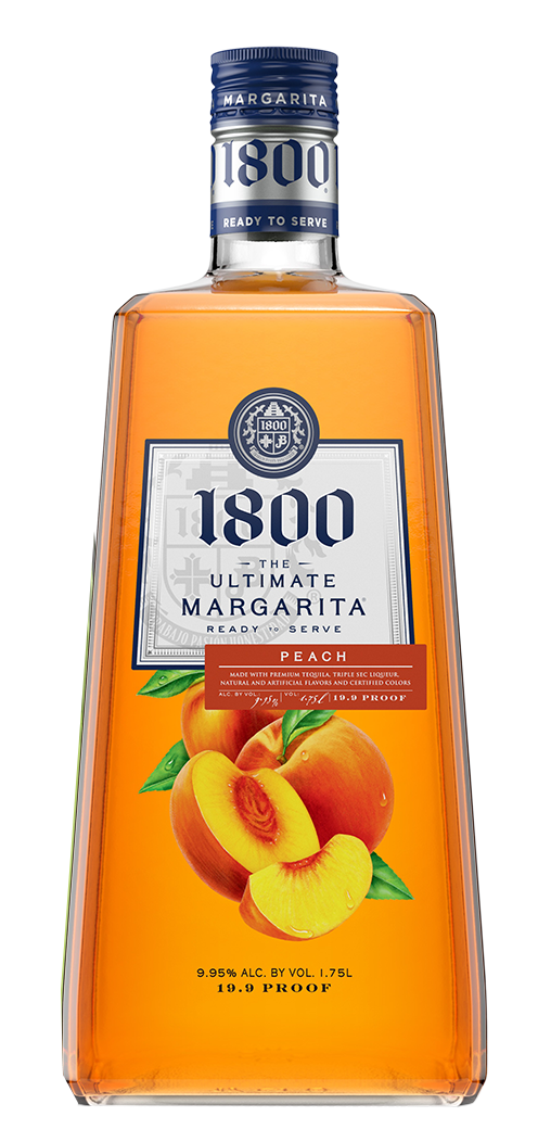 1800 The Ultimate Margarita Peach Liqueur