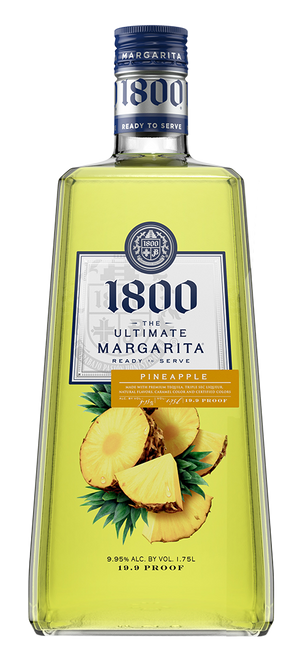 1800 The Ultimate Margarita Pineapple Liqueur - CaskCartel.com