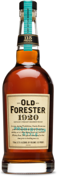 Old Forester 1920 Kentucky Straight Bourbon Whiskey