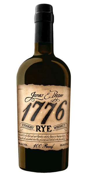 James E. Pepper 1776 100 Proof Straight Rye Whiskey - CaskCartel.com