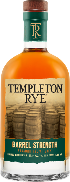 Templeton Rye Barrel Strength Straight Rye Whiskey _CaskCartel.com
