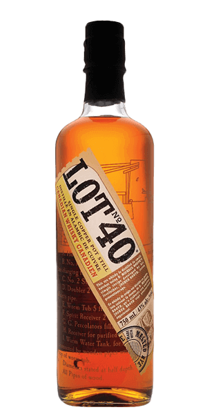 Lot No 40 Canadian Rye Whiskey - CaskCartel.com