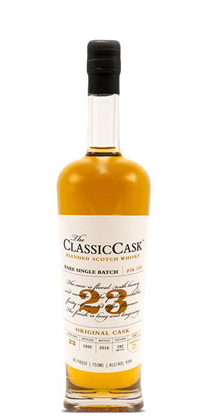 The Classic Cask 23 Year Old Original Cask Blended Scotch Whisky at CaskCartel.com