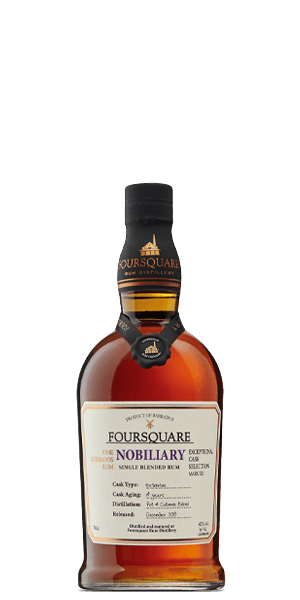 FourSquare MARK XII NOBILIARY Single Blended Rum - CaskCartel.com