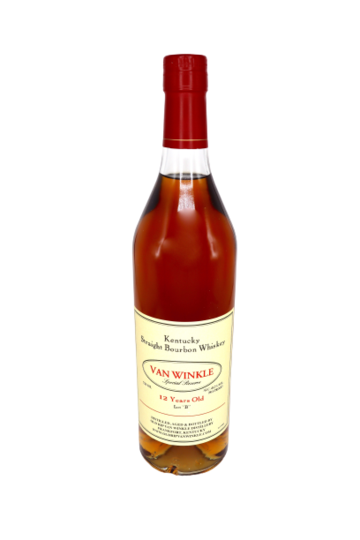 Old Rip Van Winkle 2019 Lot B Special Reserve 12 Year Old Bourbon Whiskey