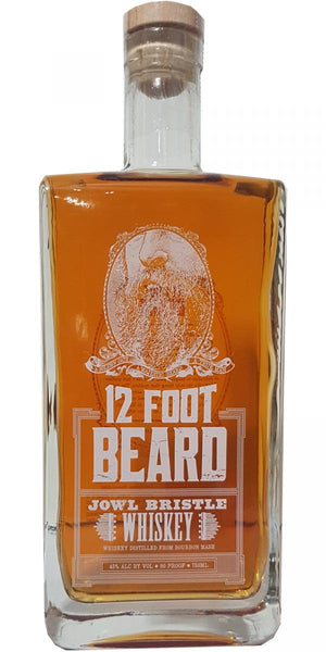 12 Foot Beard Jowl Bristle Whiskey - CaskCartel.com