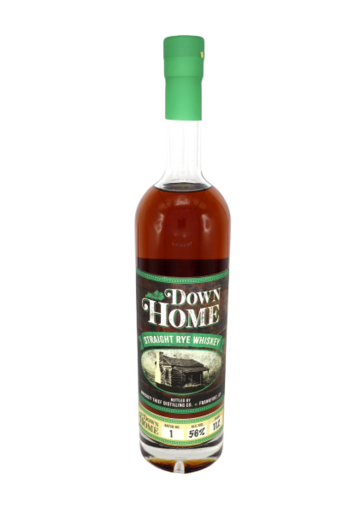 Down Home Batch #1 Straight Rye Whiskey