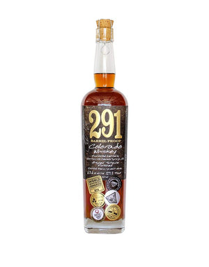 291 Colorado, Finished With Aspen Wood Staves, Barrel Proof, Single Barrel Whiskey - CaskCartel.com