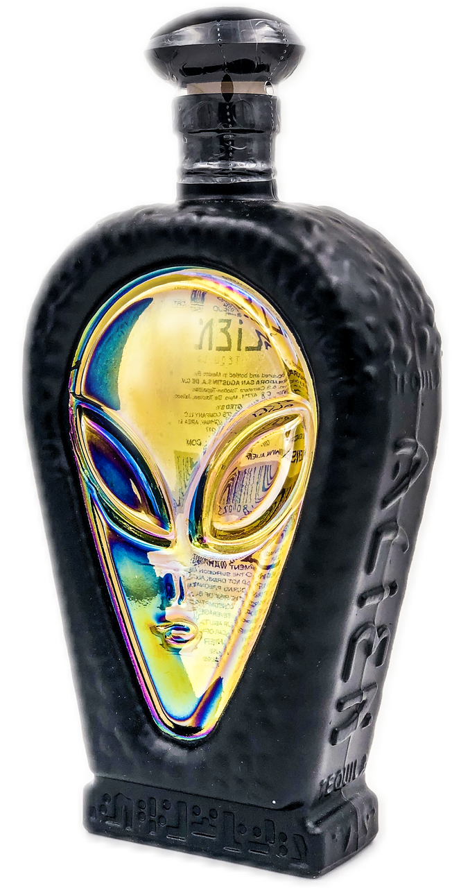 Alien Extra Anejo Tequila