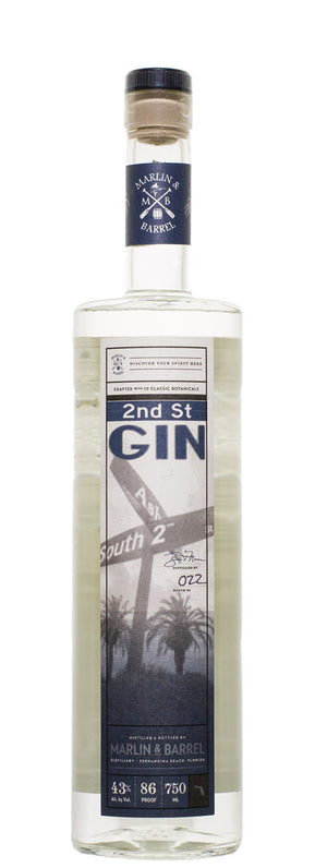 Marlin & Barrel 2nd Street Gin - CaskCartel.com