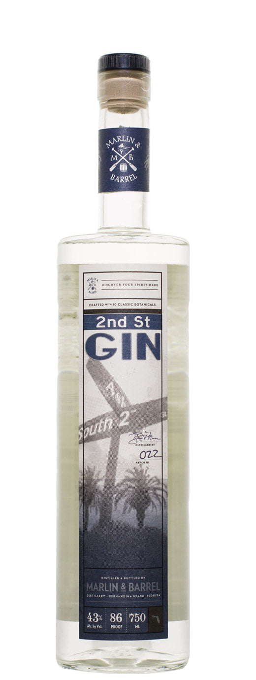 Marlin & Barrel 2nd Street Gin