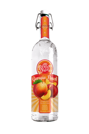 360 Georgia Peach Vodka - CaskCartel.com