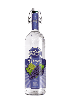 360 Grape Vodka - CaskCartel.com