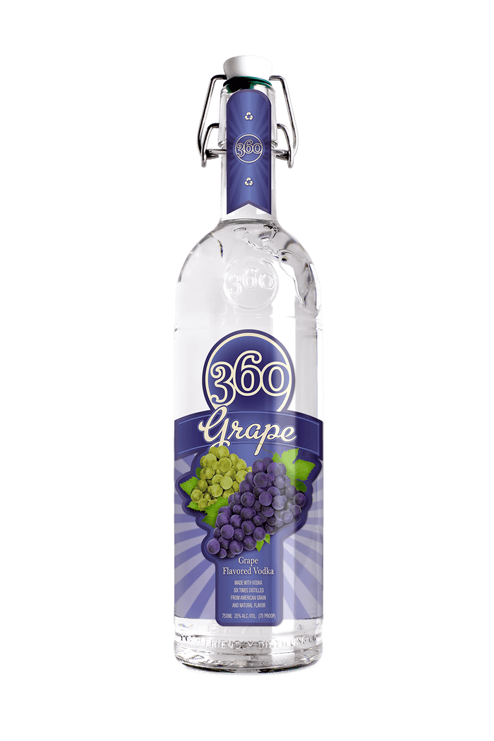360 Grape Vodka