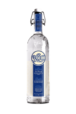 360 Vodka - Eco Friendly Superior American Vodka - CaskCartel.com