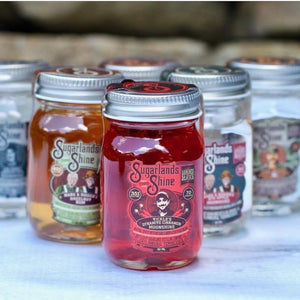 Sugarlands Moonshine 4 Mini Jar Gift Set  - CaskCartel.com