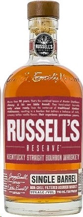 Russell's Reserve Small Batch Single Barrel Bourbon Whiskey
