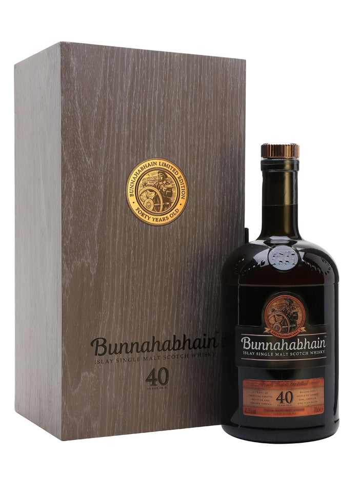 Bunnahabhain 40 Year Old Scotch Whisky