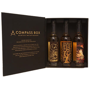 Compass Box Fall 2018 Whisky Collection Tasting Gift Pack (3) 50ml Drams - CaskCartel.com