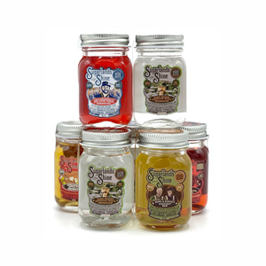 Sugarlands Shine Legends (5) Mini Jar Stocking Stuffers - CaskCartel.com 2.2