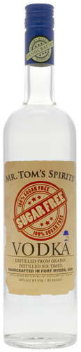 Mr. Tom's Spirits Sugar Free Vodka - CaskCartel.com