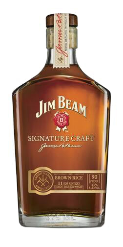 Jim Beam Signature Craft Brown Rice 11 Year Old Straight Bourbon Whiskey