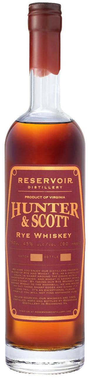 Hunter & Scott Rye Whiskey at CaskCartel.com
