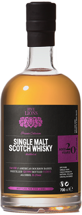 Five Lions Harmony of the Islands Single Malt Scotch Whiskey