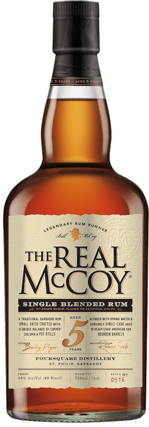 The Real McCoy 5 Year Rum - CaskCartel.com