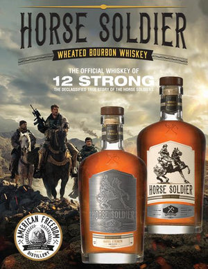 Horse Soldier Small Batch Bourbon Whiskey - CaskCartel.com