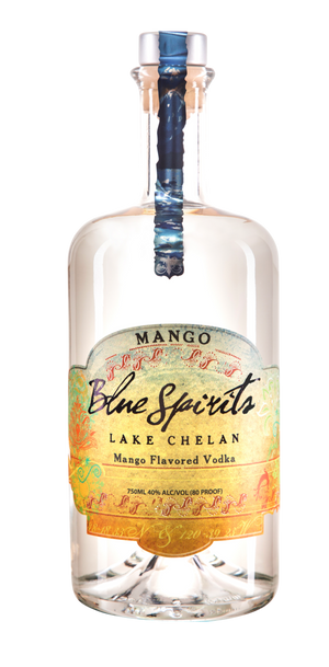 Blue Spirits Mango Flavored Vodka at CaskCartel.com