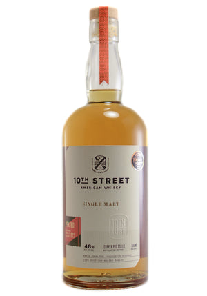 10th Street Peated Single Malt American Whisky - CaskCartel.com